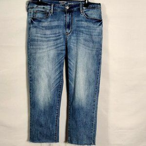 Levi's Signature Crop Jeans 12 31 High Waist Denim